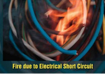 Fire Due to Electrical Short Circuit