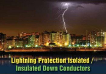 Lightning protection Insulated Down Conductors