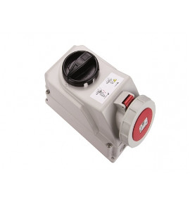 Industrial Container Interlocked Sockets - CEE Type - Insulated