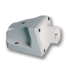 Industrial Extra Low Voltage Wall Mounted Plugs - CEE type - Insulated