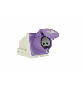 Industrial Extra Low Voltage Wall Mounted Sockets - CEE type - Insulated