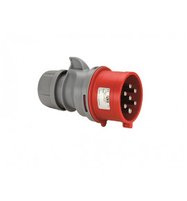 Industrial Seven Pole Plugs - CEE Type - Insulated