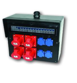 Industrial SolidRubber Plug and Socket Distribution Boards